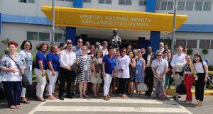 Read more about the article Enfermeras de 15 países conocen funcionamiento del Hospital Materno Infantil San Lorenzo de Los Mina