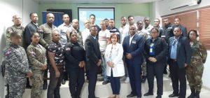 Read more about the article SNS capacita personal de seguridad del Hospital Materno Infantil San Lorenzo de Los Mina