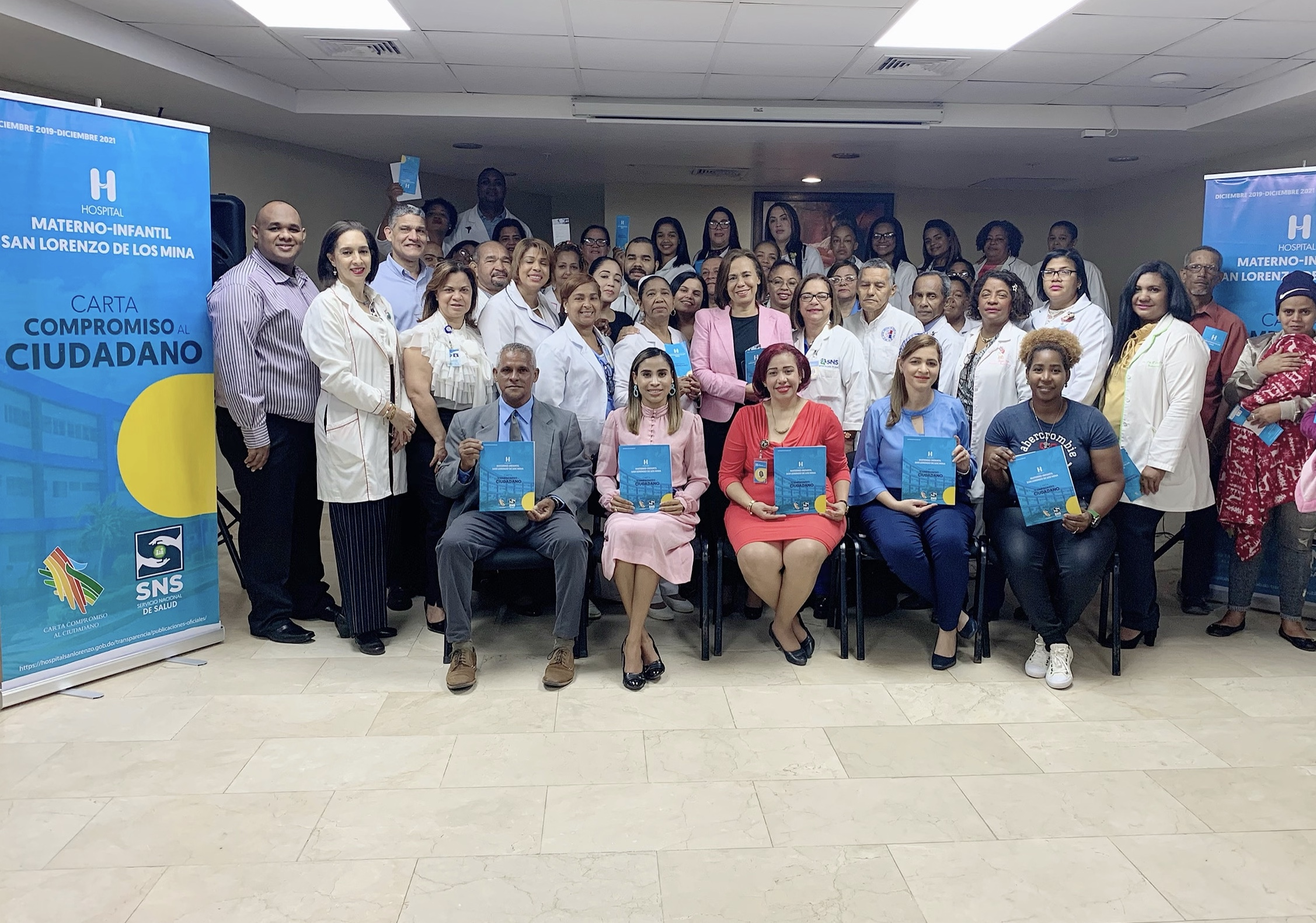 Read more about the article Hospital Materno Infantil San Lorenzo de Los Mina presenta Carta Compromiso al Ciudadano