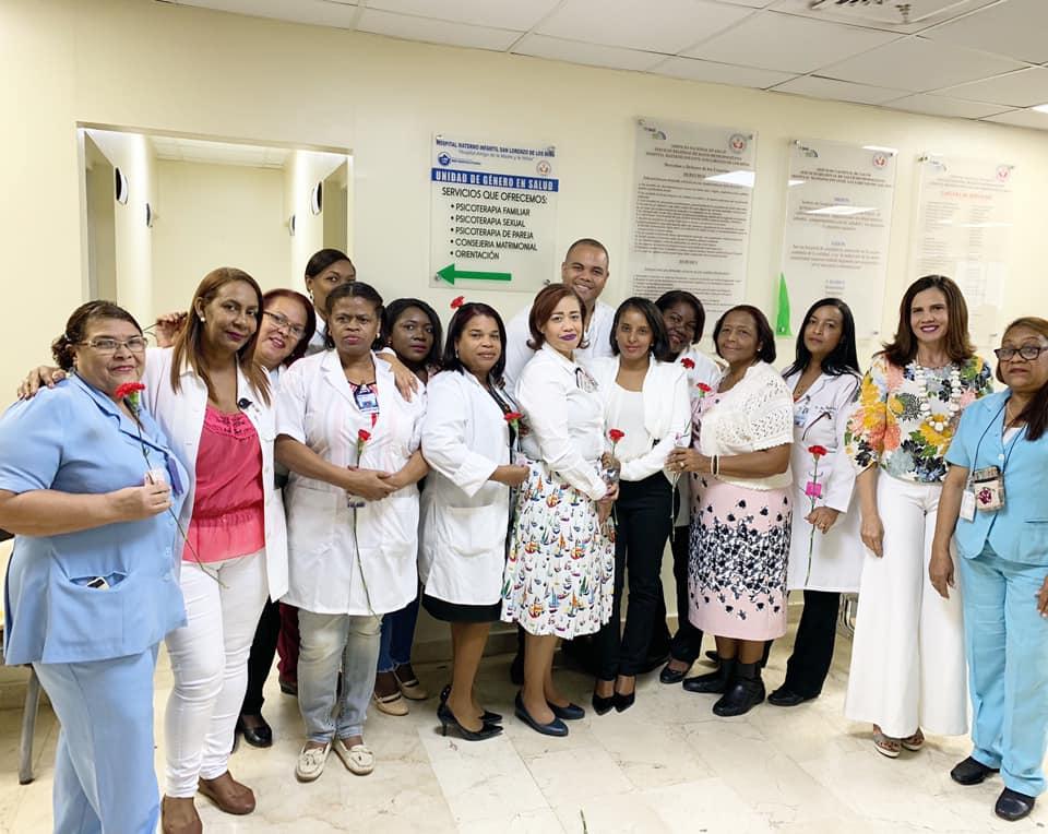 Read more about the article SNS inaugura Unidad de Género en el Hospital Materno Infantil San Lorenzo de Los Mina