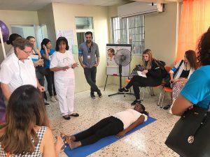 Read more about the article UNICEF visita Programa de Psicoprofilaxis en el Hospital Materno Infantil San Lorenzo de Los Mina