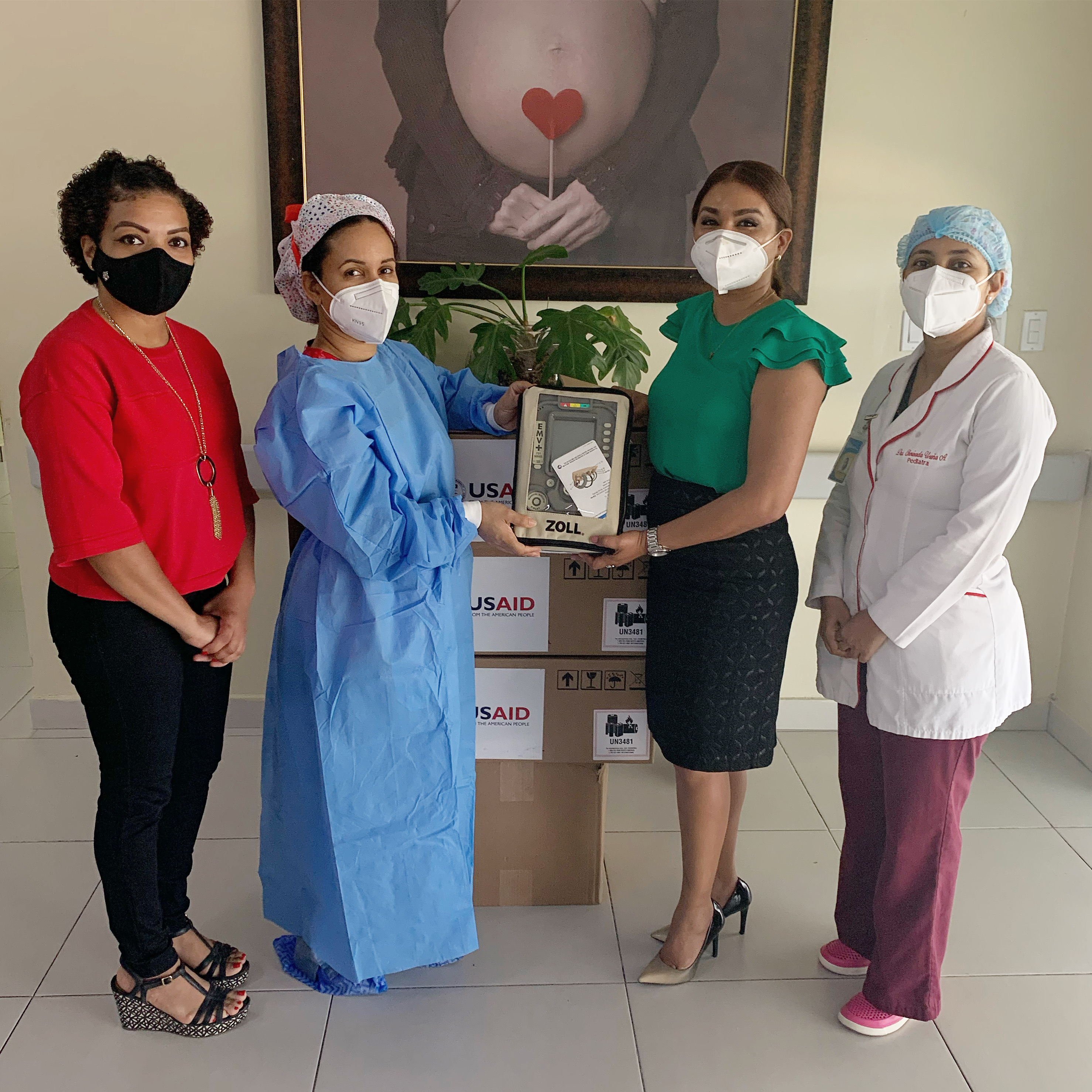 Read more about the article SNS entrega ventiladores a la Maternidad de Los Mina